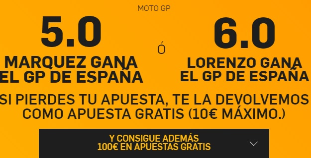 supercuota motogp betfair
