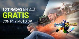 apuestas motogp Luckia Casino 10 tiradas en slot gratis al apostar en MotoGP