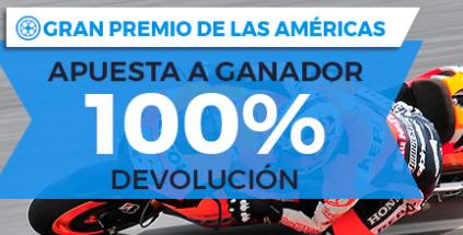 apuestas motogp Paston MotoGP GP de las Américas 100% devolución