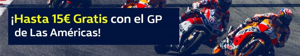 apuestas motogp William Hill MotoGP las Américas 15€ gratis