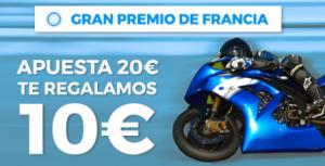 apuestas motogp Paston MotoGP Gran Premio de Francia apuesta 20€ y te regalamos 10€