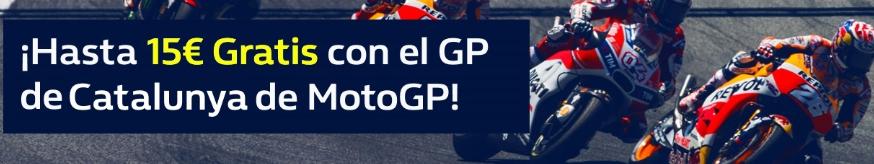 apuestas motogp William Hill 15€ gratis con el MotoGP de Cataluña